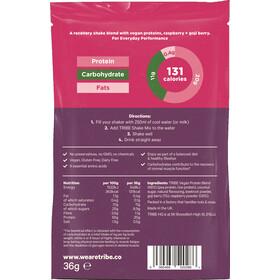 TRIBE Protein Shake Sachet Box 12x36g raspberry/goji